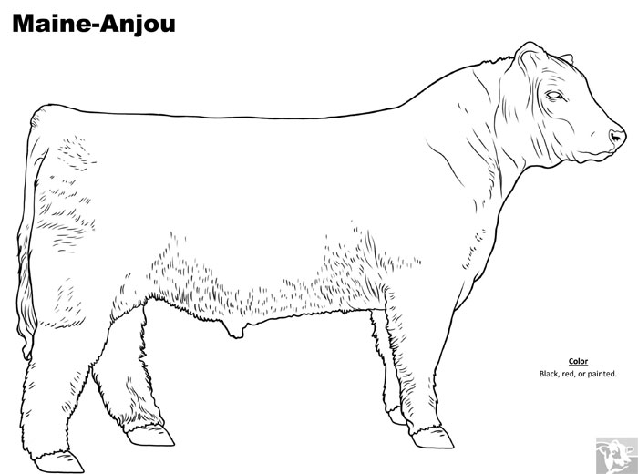 cattle trailer coloring pages - photo#23